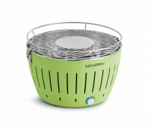 Lotus grill in green