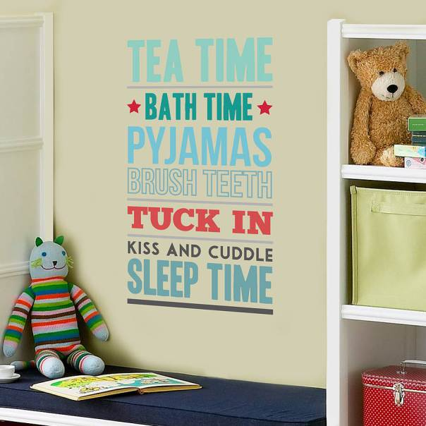 Children's wall paper and wall staickers