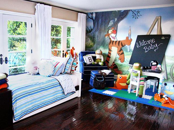Celebrity kids bedrooms pictures