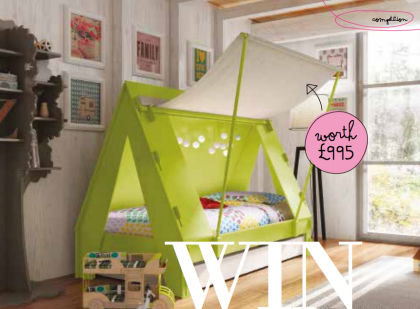 Win a Mathy By Bols Cabin bed with LittleDarlings