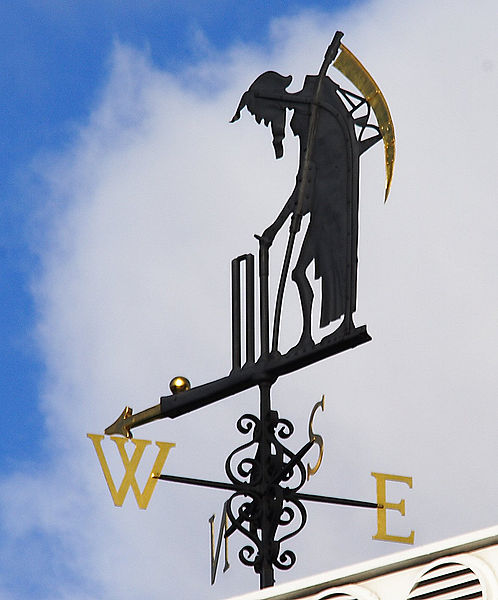 Old Father Time weathervane