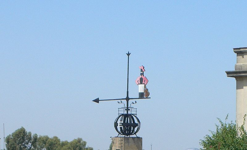 Tío Pepe weather vane