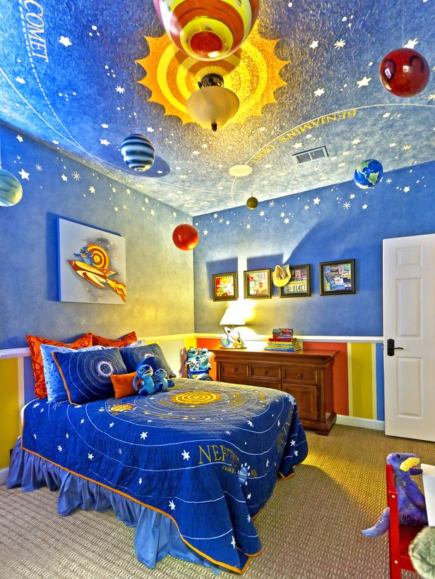 quirky kids bedroom