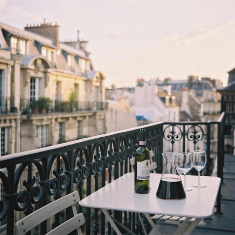 Gorgeous parisian balcony