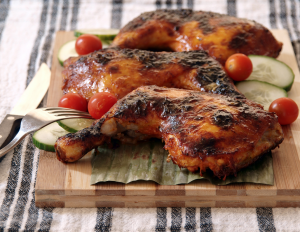 Char-grilled Czech Chicken