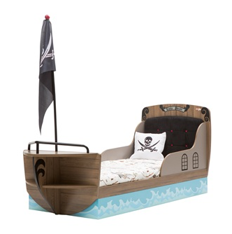 children's pirate bed