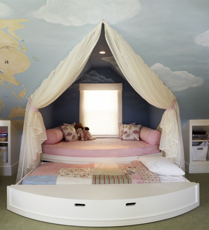 Convey Your Little Girl S Personality Through Her Bedroom: The Top 10 Most Girl-tastic Bedrooms Ever Created