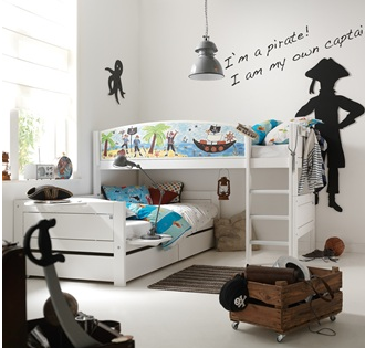 pirate bunk bed