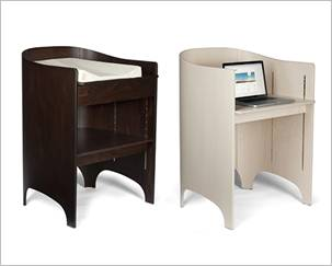 leander baby changing table