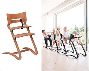 baby high chair by leander