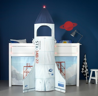 Space Rocket Bed