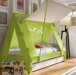 tent bed and bedroom ideas