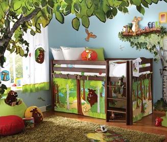 IZZIWOTNOT Gruffalo cabin bed