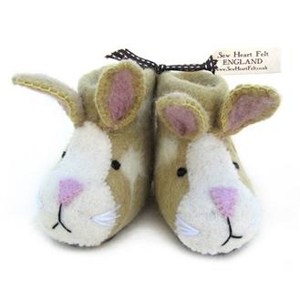 Sew Heart Felt kids slippers
