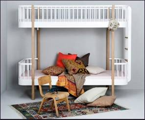 Oliver luxury bunk bed