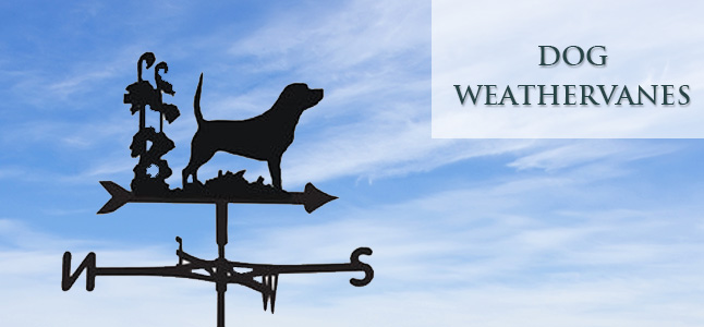 dog weathervanes