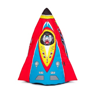 Kid Rocket Bean Bag