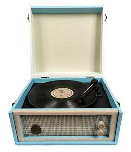 GPO design record player in retro design