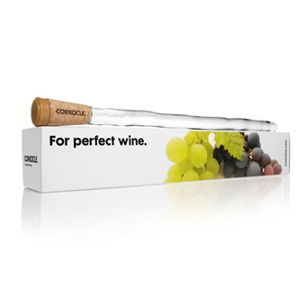 Corkcicle in bottle wine chiller