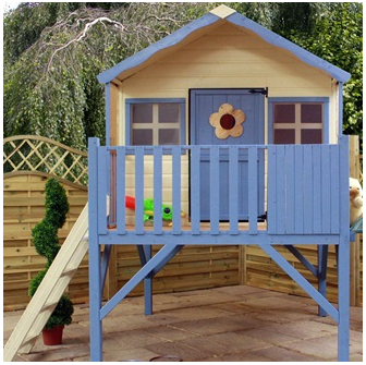 Mercia designed outdoor playhouse