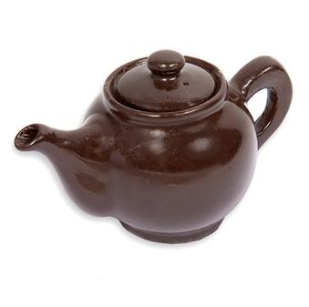 Belgian chocolate teapot