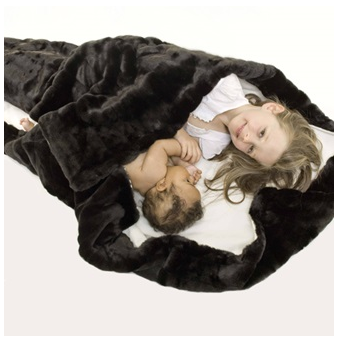 Minimink designer blanket