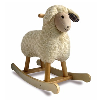 Baby Rocker In Lamb Design