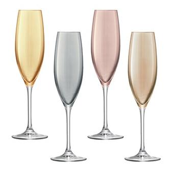 premium champagne flute set