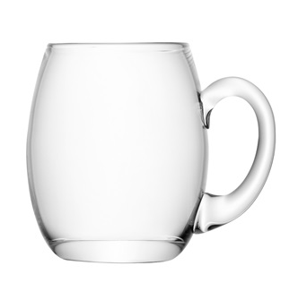 mouth blown Beer Tankard