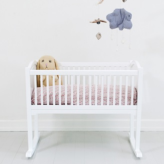 Oliver Furniture Crib in White