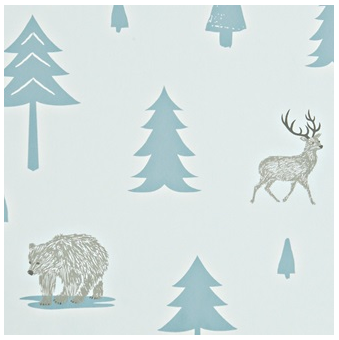 Into the wild designer wall paper