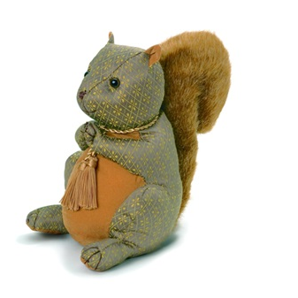 Doorstop in squirrel design
