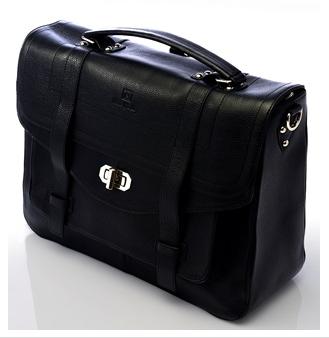 Designer change bag for baby in black