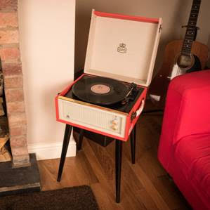 GPO Bermuda Record Plater With Stand