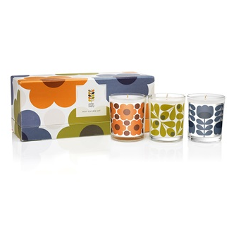 Orla Kiely Designer Candles