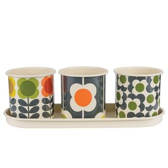 Orla Kiely Designer Plant Pots