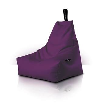 Mighty Bean Bag In Berry Colour