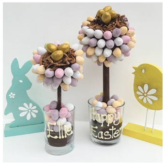 Cuckoolands easter eggstravaganza top 10 gifts for easter personalised mini egg nest easter sweet tree negle Images