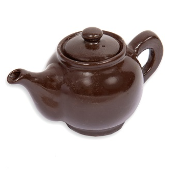 Belgian Chocolate Melt In The Middle Teapot by Schokolat