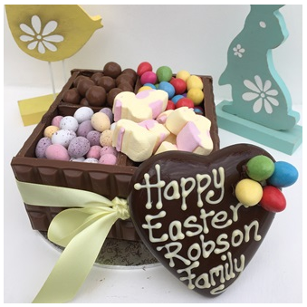 Easter Chocolate Box By Browns