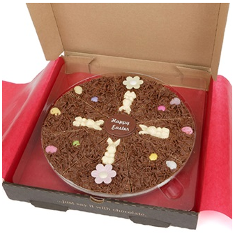 "The Gourmet Chocolate Pizza Company 10"" Easter Pizza"