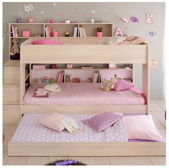Parisot Kurt Bibop Girls Bunk Bed