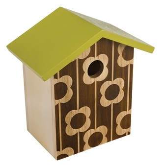 Orla Kiely Garden Accessories Bird House