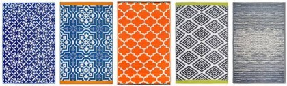 Bring 'Out' The Latest Trends With Eco-Friendly Garden Rugs