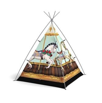 Field Candy Horse Design Kids Tent
