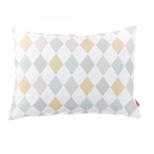 Harlequin Dawn Design pillows
