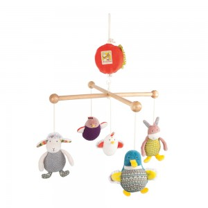 MOULIN ROTY CHILDRENS MUSICAL MOBILE
