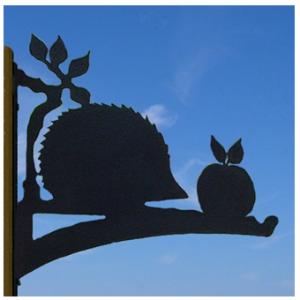 the profile range hanging hedgehog basket