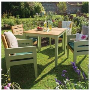 verdi wooden dining set