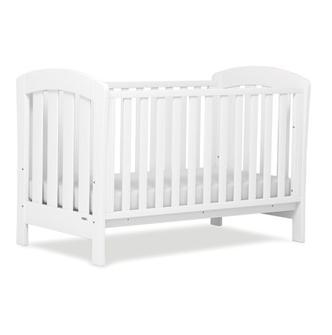 Boori White cot Bed
